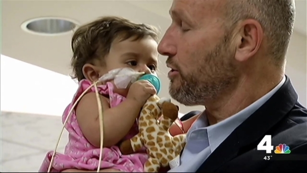 [NATL] Baby Girl Gets Life-Saving Liver Transplant From Stranger