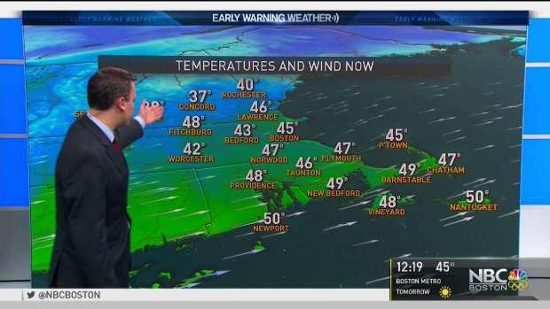 [NECN] Weather Forecast: Mild Breeze