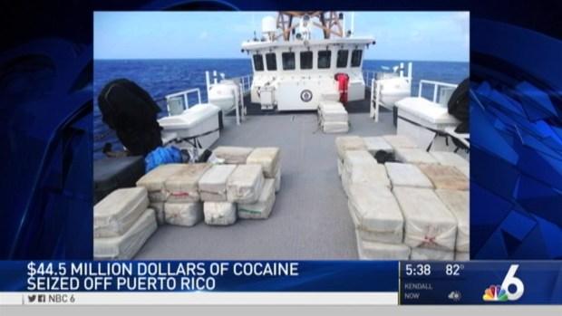 [NATL-MIA] $44.5M in Cocaine Seized By Coast Guard Near Puerto Rico