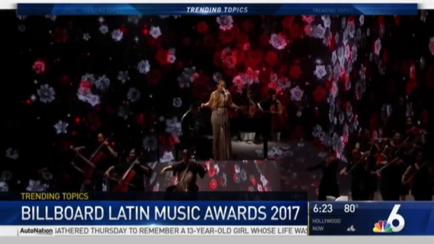 [MI-NATL] NBC 6 Recaps 2017 Billboard Latin Music Awards