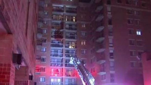 [NECN] Water Leak Forces 200 Residents Out of Allston Home