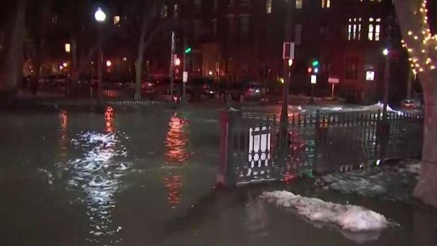 [NECN] Water Main Break Floods Boston's Back Bay