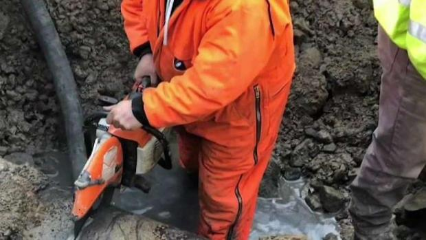 [NECN] Water Service Interrupted in Brockton