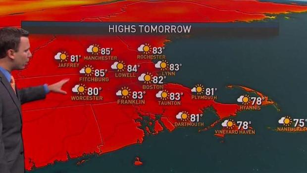 [NECN] Hot and Humid Weather Returns This Week