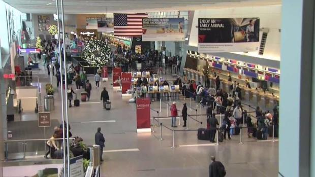 Weather Moves Up Christmas Travel Plans at Logan