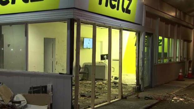 [NECN] Witness Recalls Truck Slamming Into Hertz Building
