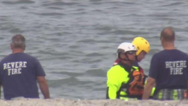 [NECN] 'Very Traumatizing': Witnesses Describe Revere Swimmer in Distress