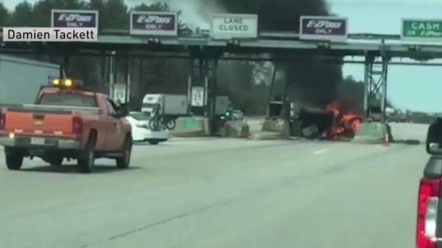 [NECN] Witnesses Recall Fatal Tollbooth Crash