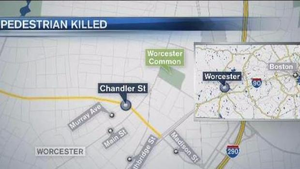 [NECN] Woman Charged in Death of Pedestrian