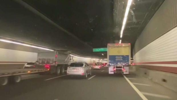 [NECN] Woman Critical After Getting Hit by Car in Tunnel