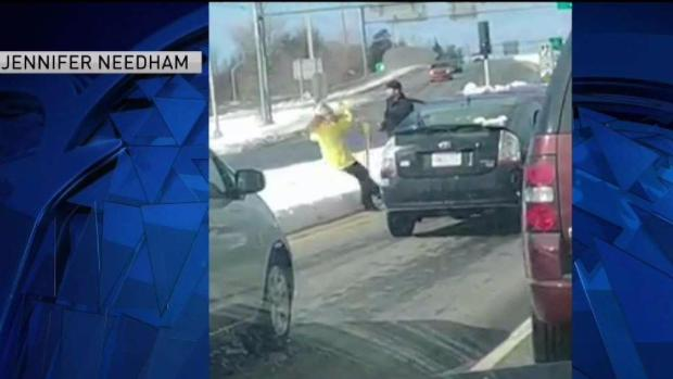 [NECN] Woman Shoved in Nashua Road Rage Incident