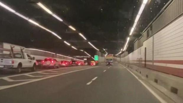 [NECN] Woman Struck by Car After Exiting Rideshare in O'Neill Tunnel