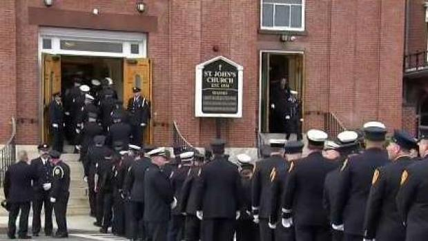 Worcester Community Remembers Fallen Firefighter
