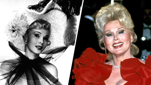 [NATL] Zsa Zsa Gabor's Life in Photos