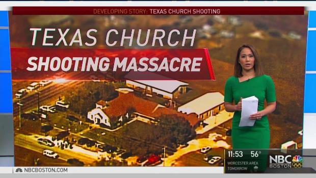 [NECN] Over Two Dozen Dead After 26-Year-Old Opens Fire in Texas Church