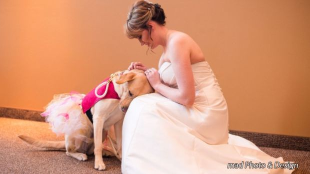 Bride's Best Friend Goes Viral