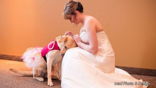 Bride's Best Friend Goes Viral