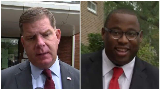 [NECN] Boston Voters Narrowing Down Mayoral Candidates to 2