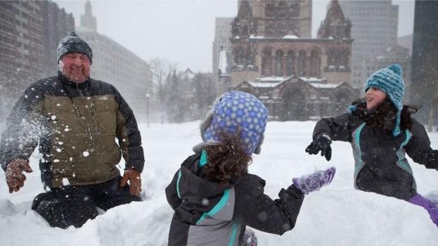 [NECN] Snow Days Pile Up in Boston