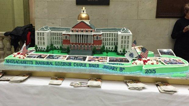 Charlie Baker Inauguration