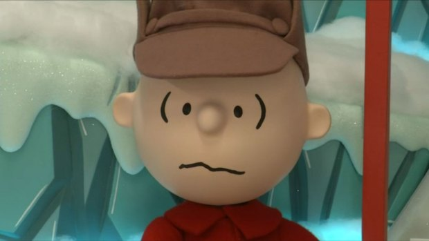 Behind the Scenes: Macy's Holiday Peanuts Display
