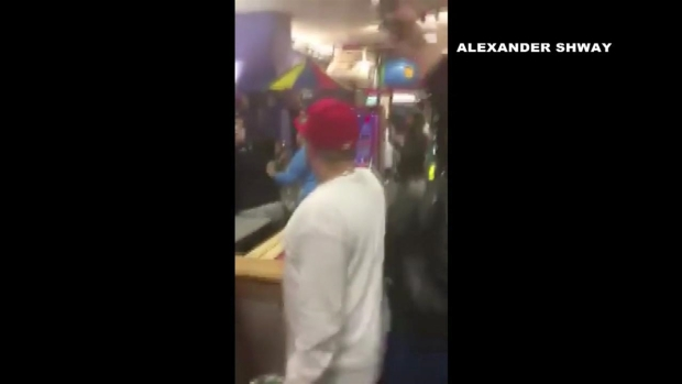 Brawl at Manchester Chuck E Cheese