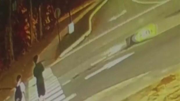 [NECN] Speeding Pickup Nearly Hits Boys in Maine Crosswalk