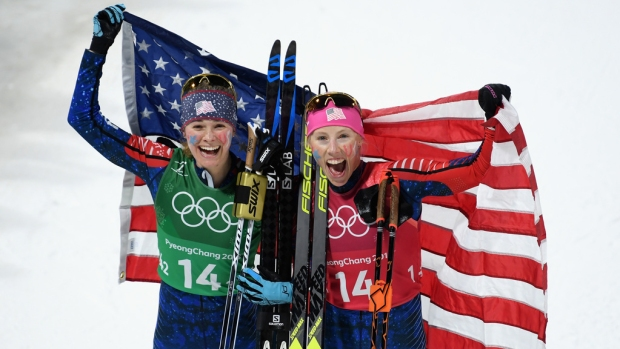 [NATL] Feb. 21 Olympics Highlights in Photos: US Speedskating Medal Drought Ends, Cross-Country Skiing Record Broken
