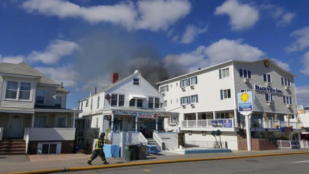 Hampton Beach Hotel Fire
