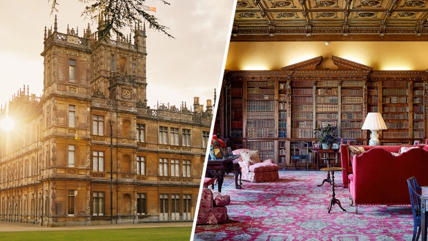 [NATL]Real-Life 'Downton Abbey' Put on Airbnb for One-Night Stay