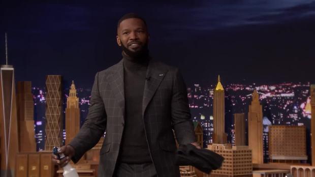 [NATL] 'Tonight': Jamie Foxx Has Video of Whitney Houston Singing Karaoke