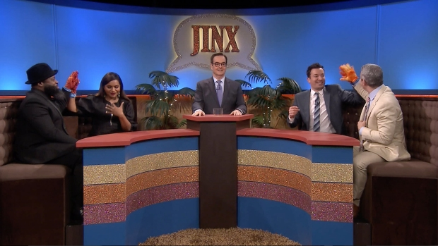[NATL] 'Tonight': 'Jinx' With Mindy Kaling and Andy Cohen