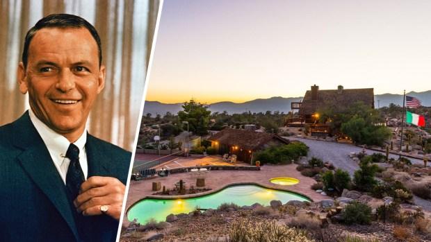 For Sale: Frank Sinatra's Lavish Desert Hideaway
