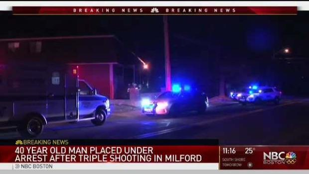 [NECN] An Arrest Was Made in the Milford Shooting