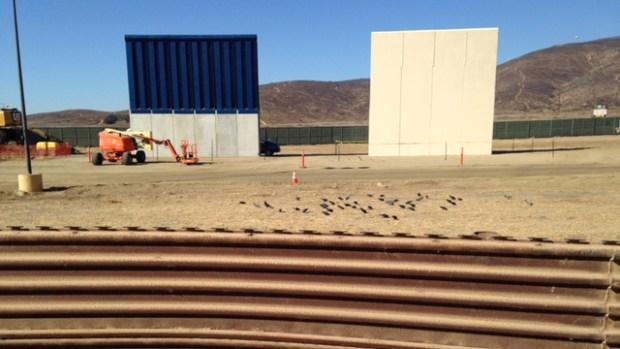 [NATL-LA] An Up-Close Look at the US-Mexico Border Wall Prototypes