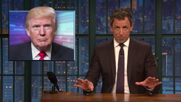 [NATL] 'Late Night': A Closer Look at Trump's Freak Out About Michael Cohen