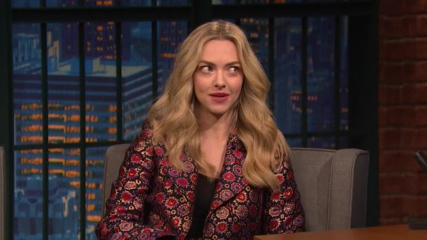 [NATL] 'Late Night': Amanda Seyfried Is in Awe of How Cool Cher Is