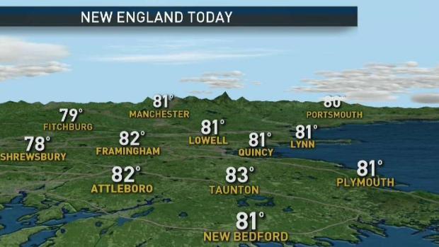 [NECN] Pleasant Sunday Across New England