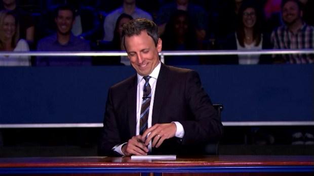 'Late Night': 2016 Presidential Debate
