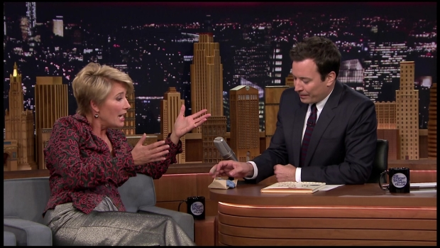 "Emma Thompson Talks ""Peter Rabbit"" on ""Tonight"""