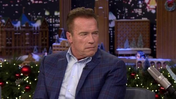 'Tonight': Schwarzenegger's 'Apprentice' Catchphrase