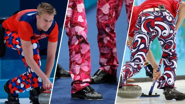 A Look at the Bold Prints of Team Norway's Curlers