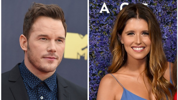 [NATL] Celebrity Hookups: Chris Pratt Proposes to Katherine Schwarzenegger