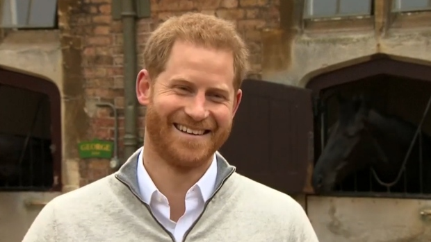 [NATL] Prince Harry Reacts After Birth of His Son