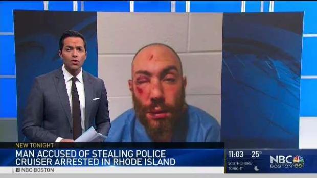 [NECN] PD: Man Who Stole Police Cruiser, Sparking Manhunt, Is Under Arrest
