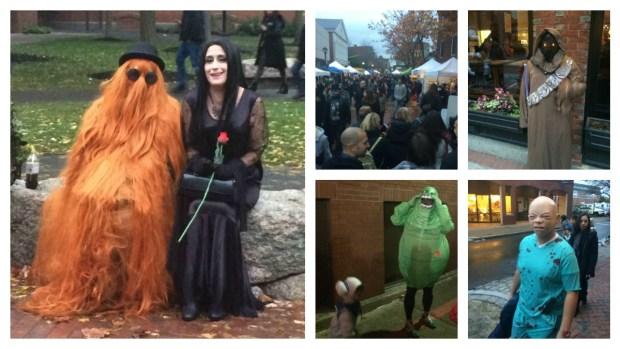 Scenes From Halloween in Salem, Massachusetts