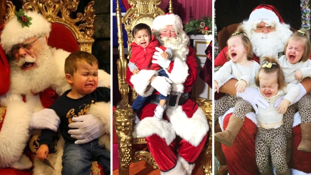 #SantaFail: Holiday Photos Gone Terribly Wrong