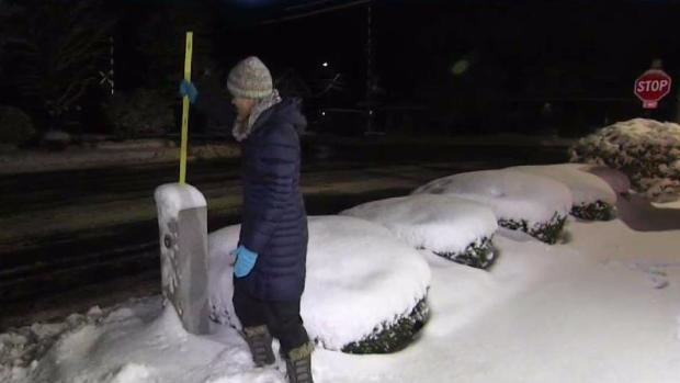 [NECN] Snow Dumps on Littleton, Massachusetts