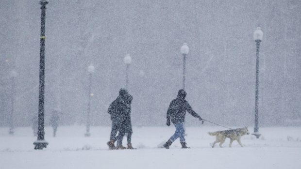 Massive March Nor'easter Slams New England