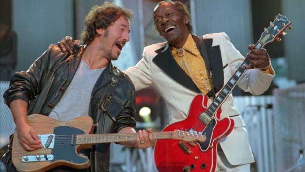 Family backing plans to release music from Chuck Berry's new album